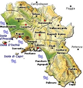 VisitsItalycom Welcome to the Amalfi Coast and the region of Campania