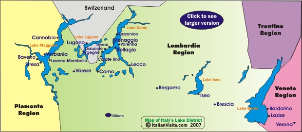 map of italian lake district Visitsitaly Com Travel And Tours To Italy S Lake District map of italian lake district