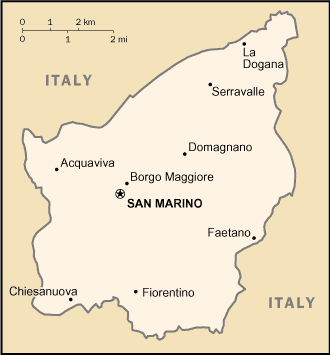 VisitsItalycom The Republic of San Marino