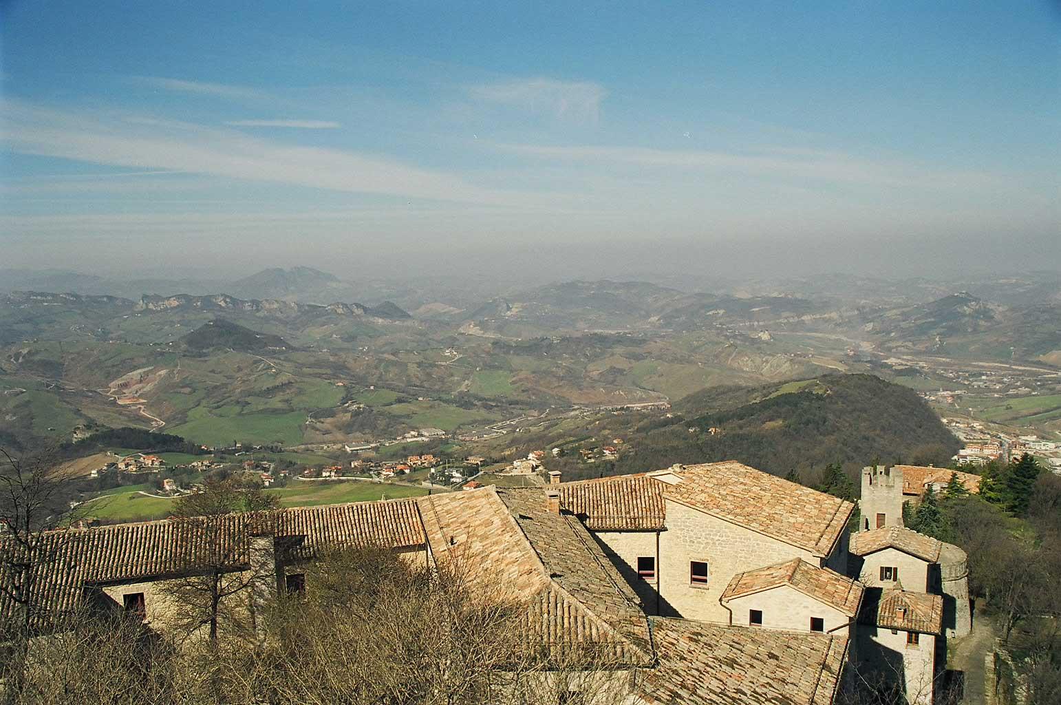 The republic of san marino for Flights to san marino italy