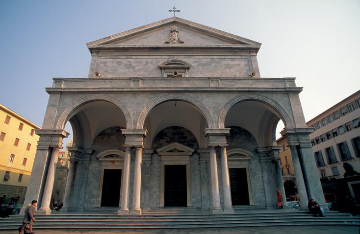 Portico of the Duomo, Livorno