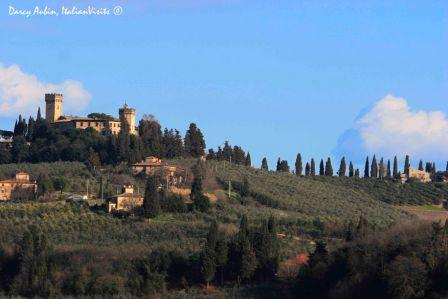 Welcome To Poppiano And The Castello Di Poppiano Tuscany