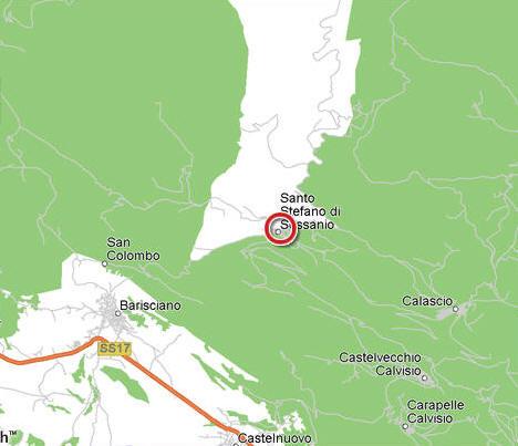 stefano magnanni udine italy map - photo#14