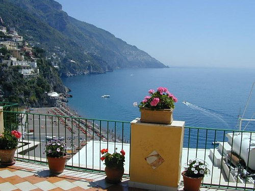 Welcome to the hotel casa cosenza positano for Casa positano