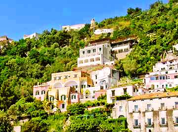 VisitsItaly.com - Campania and the Amalfi Coast - Hotel Terrazze