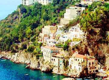 VisitsItaly.com - Campania and the Amalfi Coast - Apartment Fata Blu ...