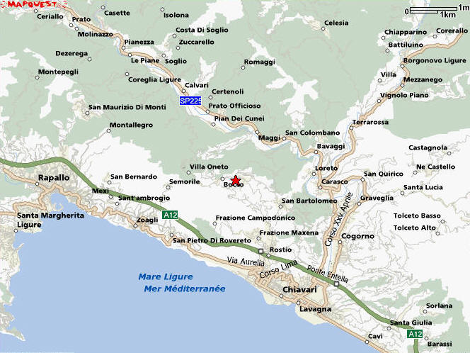 Image Result For Florence To Cinque Terre Map