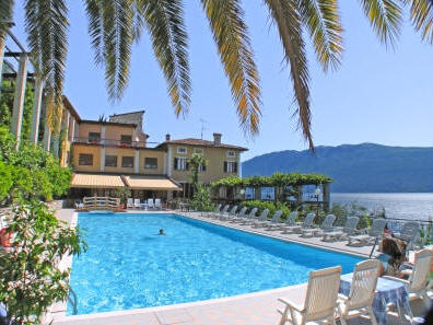 Hotel Palazzina Sits On A Ridge Overlooking Lake Garda Offering Good Value For Money Those Travelers Interested In Staying Day Or Few Days