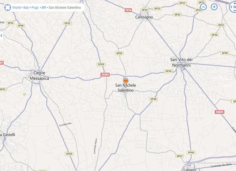 stefano magnanni udine italy map - photo#4