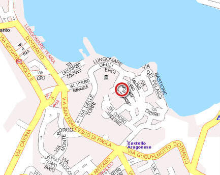 Otranto Italy Map.Visitsitaly Com Welcome To The Hotel Palazzo Papaleo Otranto