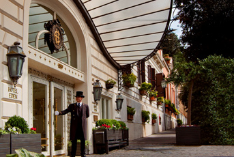 VisitsItaly.com - Welcome to Hotel Eden at the Spanish Steps - Rome ...