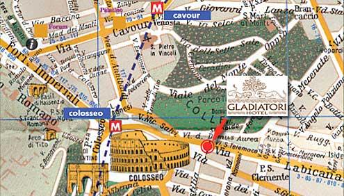 Visitsitaly Com Welcome To The Hotel Gladiatori Rome