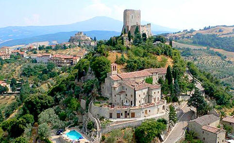 VisitsItaly.com - Tuscany - Welcome to the Hotel San Simeone, Val D ...